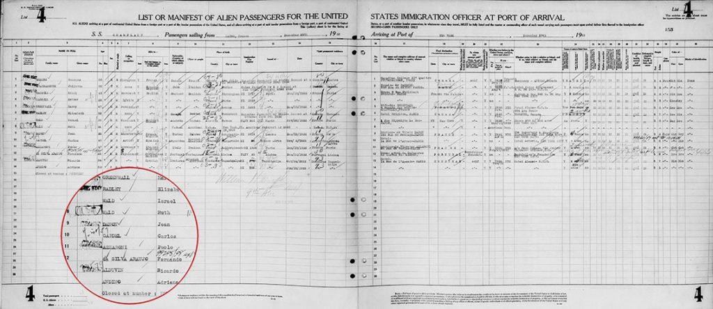 1933 diciembre 19 al 28 GARDEL CHAMPLAIN