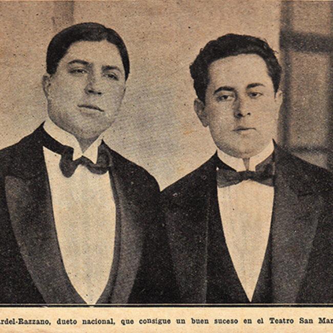 Gardel y Razzano, el dúo más famoso de la historia (segunda parte) Cuando dos zorzales se reúnen