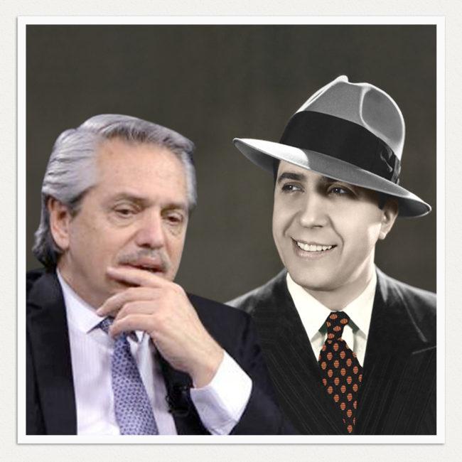 Alberto Fernández podría llegar a ser Gardel!