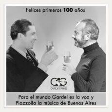Para el mundo Gardel es la voz y Piazzolla la música de Buenos Aires