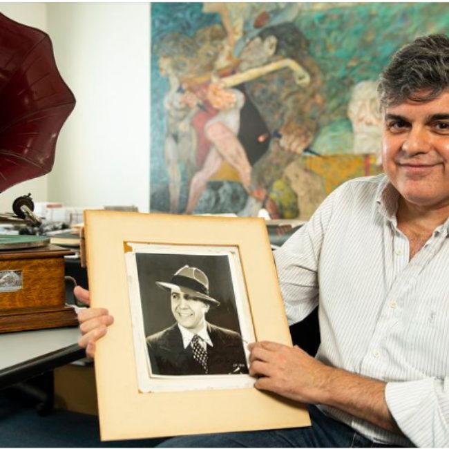 La vida de Carlos Gardel a través de algunos de sus objetos más preciados